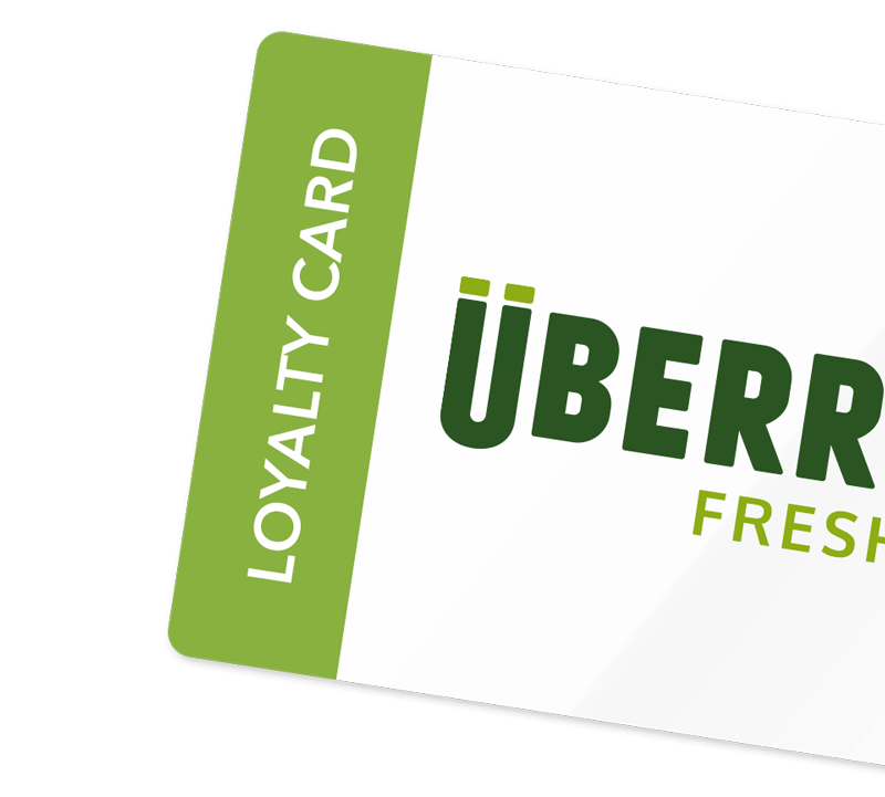Uberrito Loyalty Cards